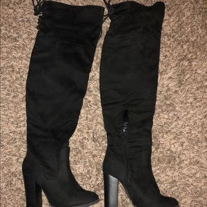 Size 7 over the knee boots